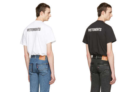 Ironically Luxurious T-shirts - The Newly Released Vetements 'Staff' T-Shirt Costs $175