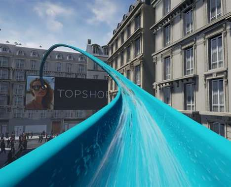 VR Retail Waterslides