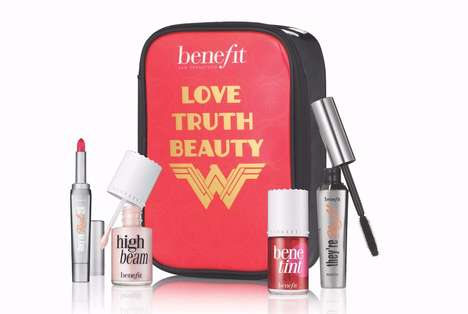 Comic Heroine Luxury Makeup - This New Wonder Woman Makeup Collab Was Created by Benefit Cosmetics