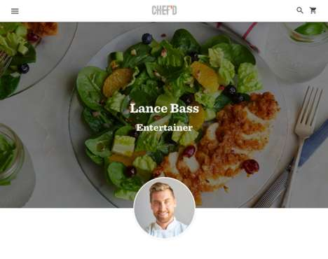 Celebrity-Created Meal Kits - Lance Bass is Launching Southern Meal Kits with Chef'd