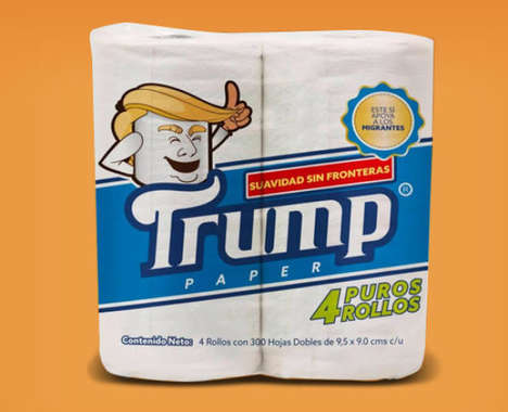 Charitable Political Toilet Papers