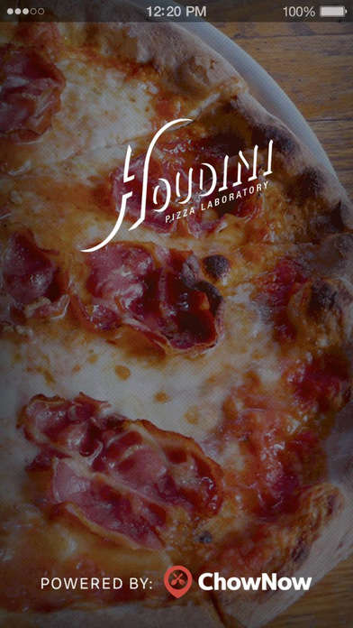 Standalone Pizza Delivery Apps - The Houdini Pizza Laboratory App is Integrated with Apple Pay