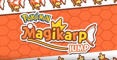 Jumping Fish-Monster Games - 'Magikarp Jump' is the Latest Mobile Game From Nintendo and Niantic