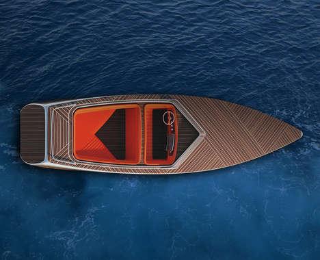 Luxury Wooden Speed Boats