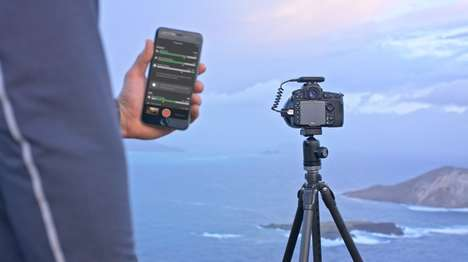 AI Photography Devices - The 'Arsenal' Camera Assistant Relays Control to Your Smartphone