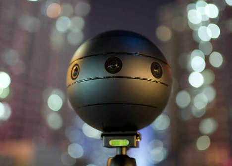 Immersive 360-Degree Cameras - The 'SONICAM' 3D VR Camera Captures Content in 360-Degrees