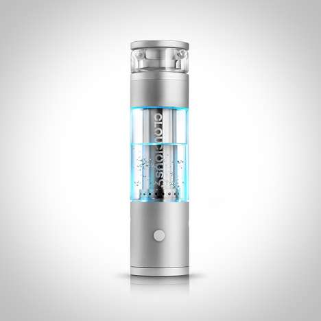 Water Filtration Vaporizers - The 'Hydrology9' Personal Vaporizers Produce Smoother Vapor