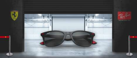 Grand Prix Sunglasses Collaborations - Ray-Ban Has Released a Collection with Scuderia Ferrari