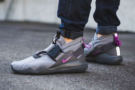 Futuristic Waterproof Sneakers - These New NikeLab Sneakers are Durable, Comfortable and Versatile