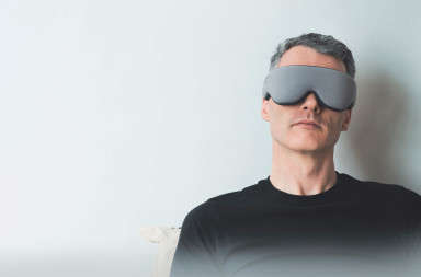 Insomnia-Fighting Goggles - The Sana Sleep Goggles Help Users Fall Asleep Within 10 Minutes