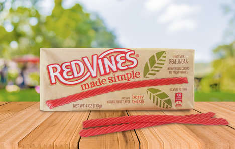 Simplified Licorice Twists - 'Red Vines Made Simple' are Created with Just Five Ingredients