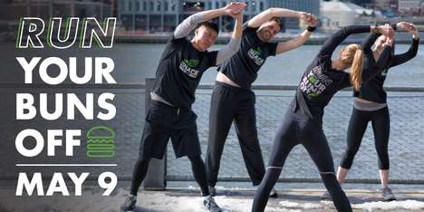 Fast Food-Branded Fitness Clubs - Shack Track & Field is a Workout Group Funded by Shake Shack