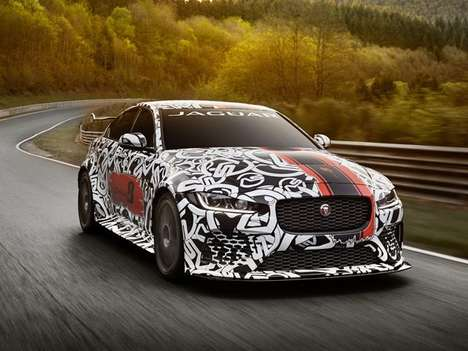 Record-Setting British Sedans - The XE SV Project 8 Will Be Jaguar's Most-powerful Car Ever Made