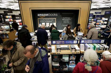 Physical E-Commerce Shops (UPDATE) - Amazon's New York Book Store is a Retail Space Selling Books