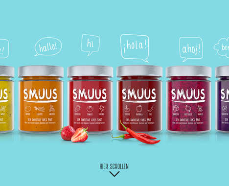 Smoothie-Inspired Toast Spreads
