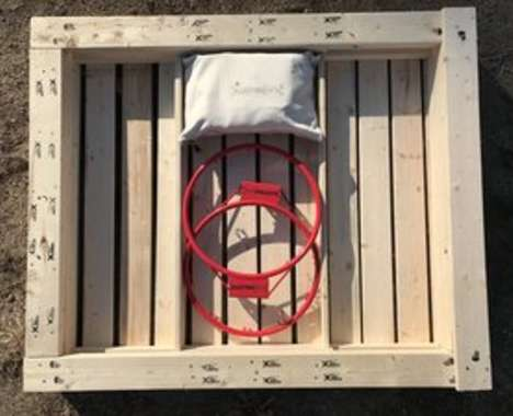 Contained Play Equipment Pallets
