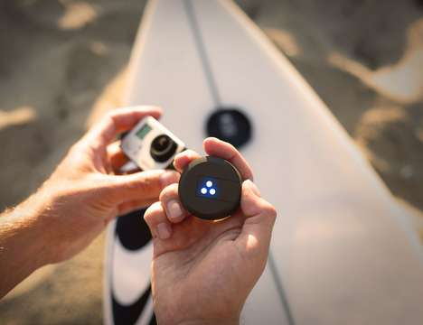 Sport Board Activity Trackers - The 'Trace' Action Sports Tracker Mounts Directly onto Boards