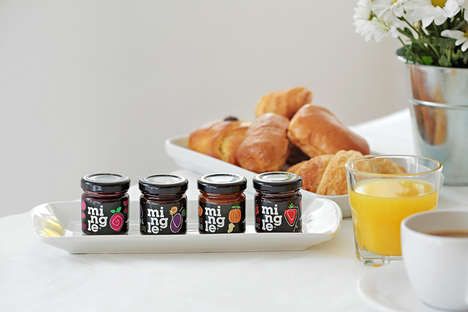 High Fruit Content Jams - Mingle Jams Offer a Range of Unique Flavor Profiles