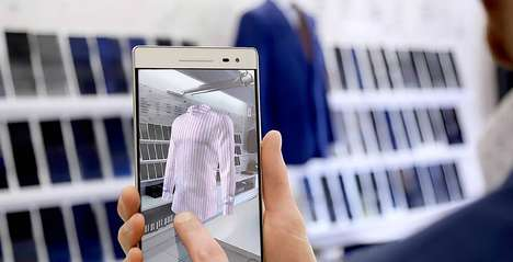 AR Clothing Customization Tools - Surmesur is Using AR to Help Customers Design Custom Clothing