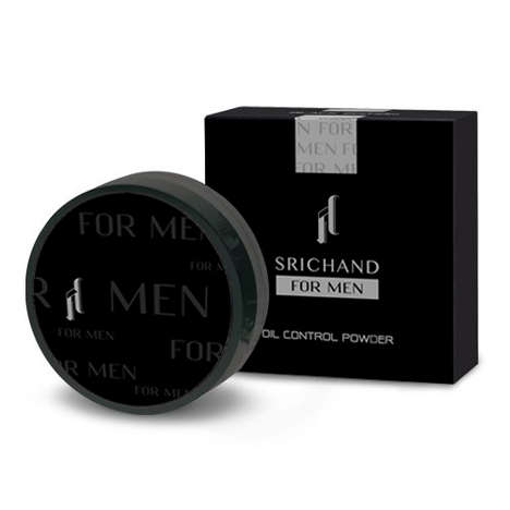 Male-Specific Finishing Powders - Srichand's Chan Oil Control Powder is Specifically Marketed to Men