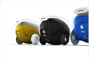 The Apple iMo Reveals the Next Generation of Robotic Urban Cars