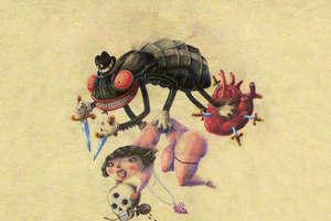 Naughty Creepy Crawler Drawings By Javier Verdugo