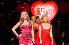Blood Red Charity Gowns - Heart Truth Fashion Show Attracts Celebs From Jennie Garth to Hillary Duff