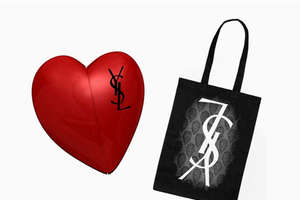 Bags and Heart-Shaped Flashdrives to Launch YSL Manifesto SS09