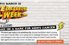 Cancer Council of Australia 'Daredallion' Campaign