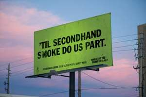 Great Copy Makes Great Statement in Anti-Smoking Ads