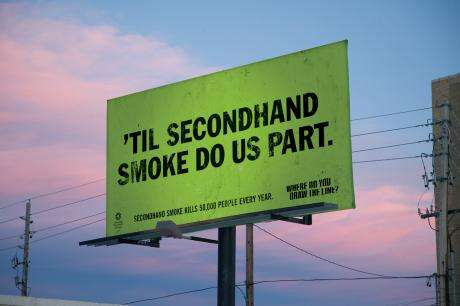 Morbid Vow Billboards - Great Copy Makes Great Statement in Anti-Smoking Ads