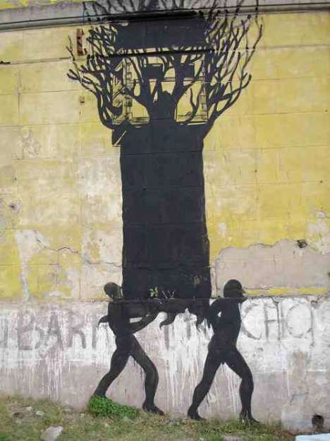Dark Shadow Street Art