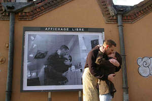 Poster Bombing From Alsacherie in France Brings Back The Love