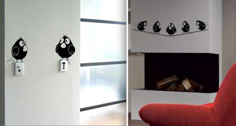 Pet Stickers - Ingenious Vinyl Wall Stickers Liven Up Interior Decor With Fake Animals