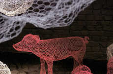 Fanciful Animal Sculptures