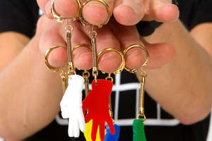Handy Shft Pendants and Keychains Remind You Everything is Okay