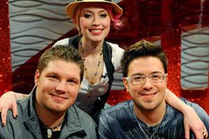 American Idol's Danny Gokey Clearly Prefers Versace Glasses