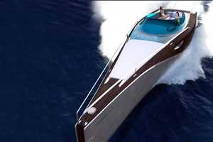 Exclusive 'Eden' Speedboat Fuses Wood and Carbon Fiber