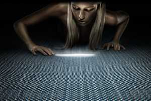 'Twilight' Flooring Lights Up Your Way With a Metallic Weave