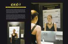 Jail Simulation Mirrors - Rikkis Taxi & Shuttle Service Shows Effects of Drinking and Driving