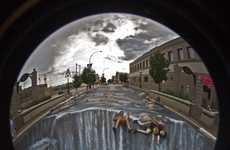 Fake Flood 3D Chalk