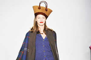 Isaac Mizrahi Tranforms Toques From Hats to Purses And Back Again