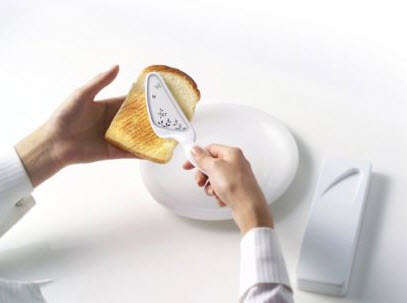 Hand-Held Toasters - Portable Ceramic Bread Iron by Kim Been