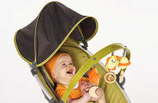 Musical Mini Hammocks - Dock-a-Bye-Baby 'Combi Pod Bouncer' Rocks