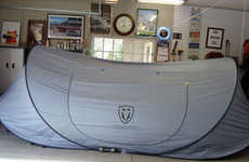 Cocoon-Like Car Covers
