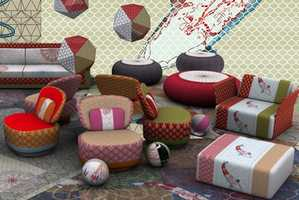 Moroso 'Sushi' Collection Blends Influences From Japan and Morocco