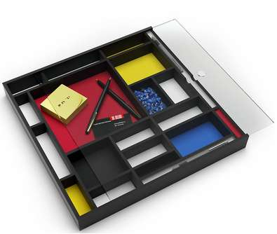 Mondrian-Inspired Accessories