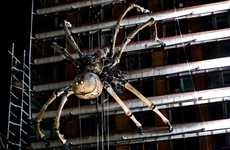 Giant Steampunk Spiders - La Princesse Webs Her Way Across the Globe
