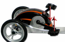 Pedal-Powered Scooters