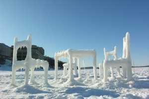 Furniture Made From Snow Makes Your Igloo Dreams a Reality